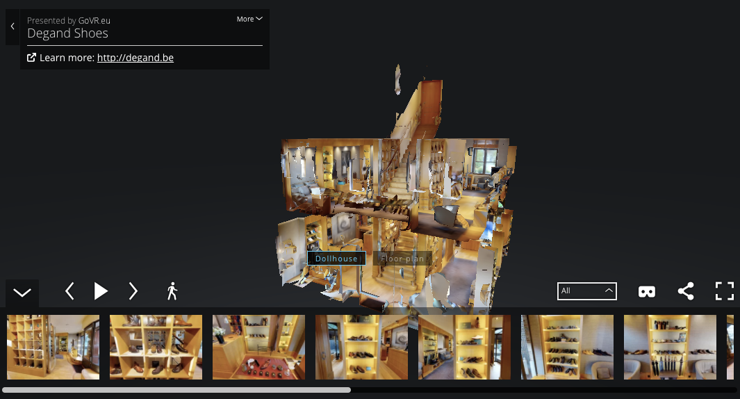 GoVR - News in Virtual tour and 3D scanning powered by